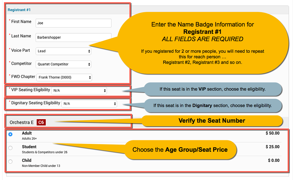 007 enter registrant information